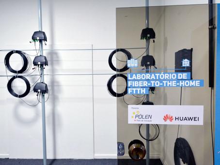 Inaugurado o Laboratório de Tecnologia 5G Huawei em Niterói