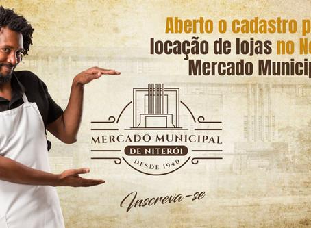 Abertas as inscrições on-line para os interessados em abrir loja no Mercado Municipal de Niterói