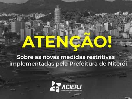 Sobre as novas medidas restritivas da prefeitura de Niterói