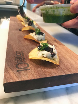 Deconstructed Fish Taco