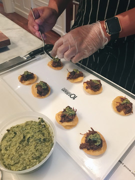 Deconstructed Taco