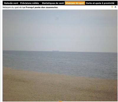 Wind's UP - WebCam les Coussoule
