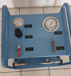 Fabricação de unidade de Teste