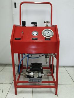 Fabricação unidade de teste 1