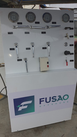 Fabricação unidade de teste 5
