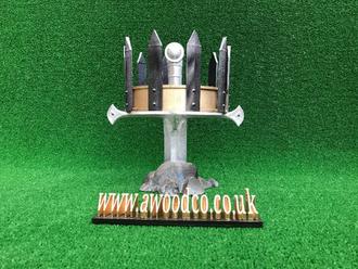 Jaehaerys II, Maekar I Targaryen - 3D Printed replica costume crown