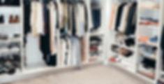 Open Plan Wardrobe Design