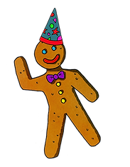Gingerbread Man partyhat.png