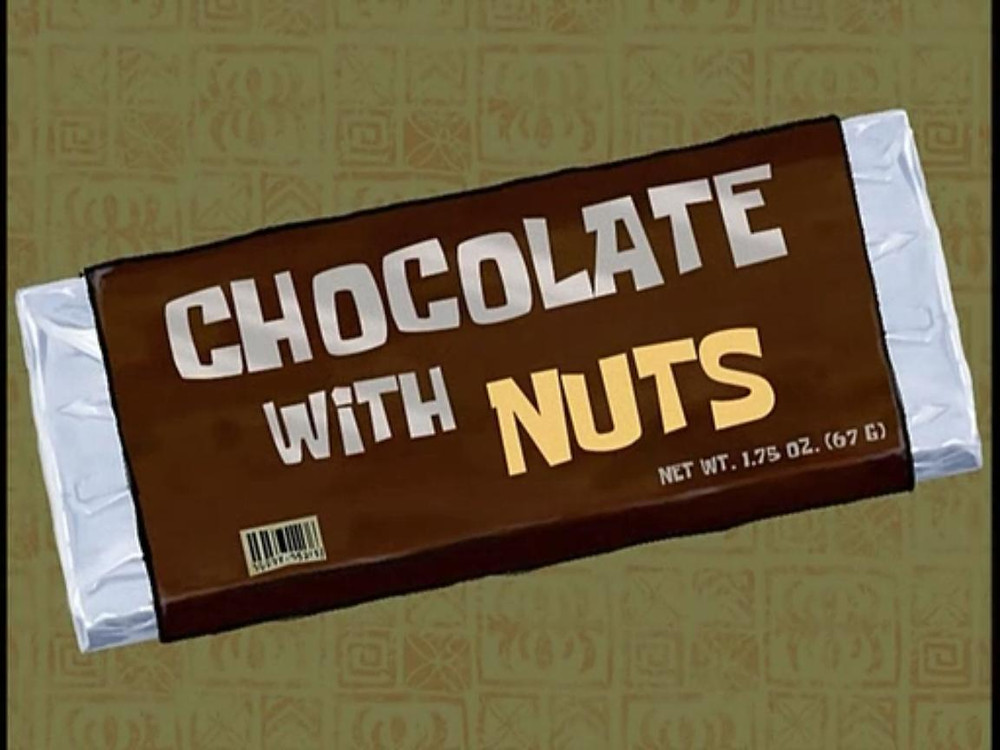 Title card Chocolate with Nuts