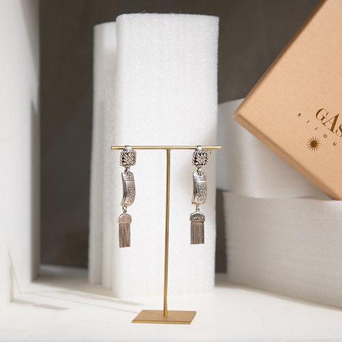 GAS BIJOUX PARIS - Orecchini a clip in argento