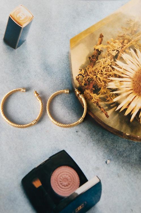 orecchini cerchio intrecciati  Vogue Bijoux Vintage