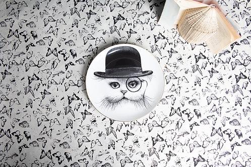 Cat In Hat Tilt Plate / Rory Dobner