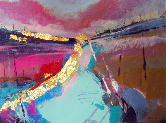 """2018 """"Art In Sixes"""" Small Works Exhibition; Delaware Valley Arts Alliance (DVAA)"""