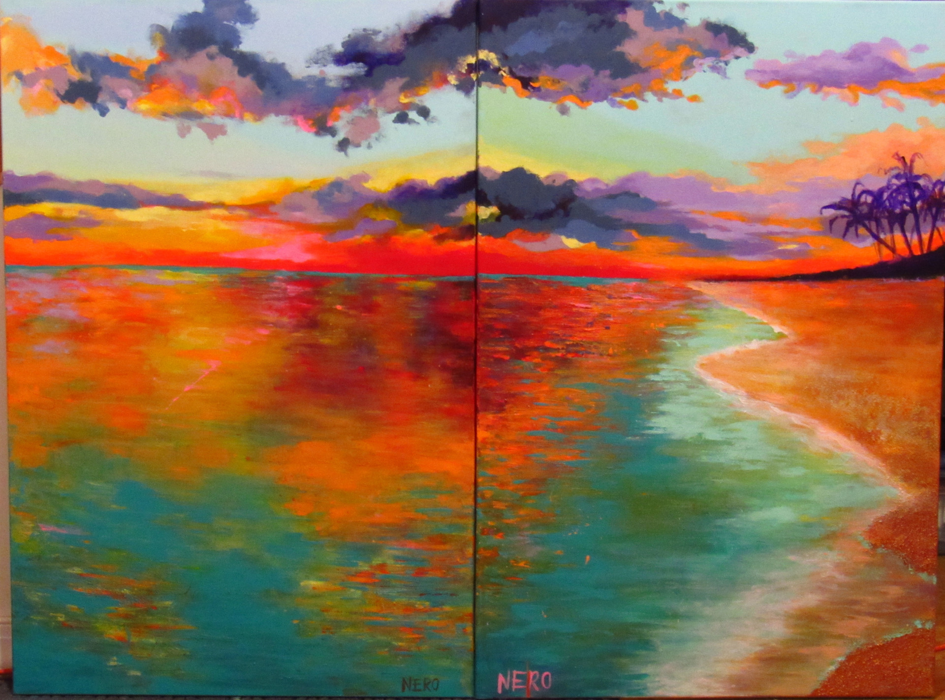 Caribbean Sunset (1 & 2 combined)