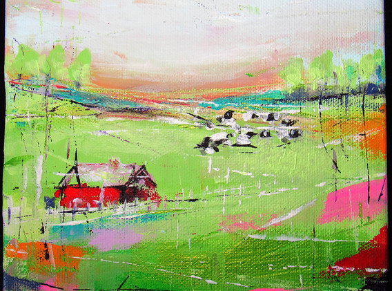 """13th Annual """"Art In Sixes"""" Small Works Exhibition; Delaware Valley Arts Alliance (DVAA)"""