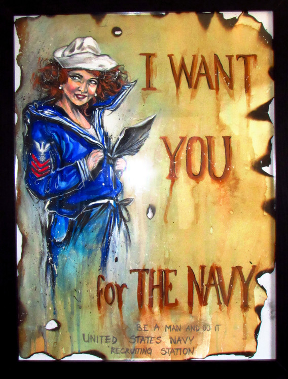 US Navy Recruitment Poster