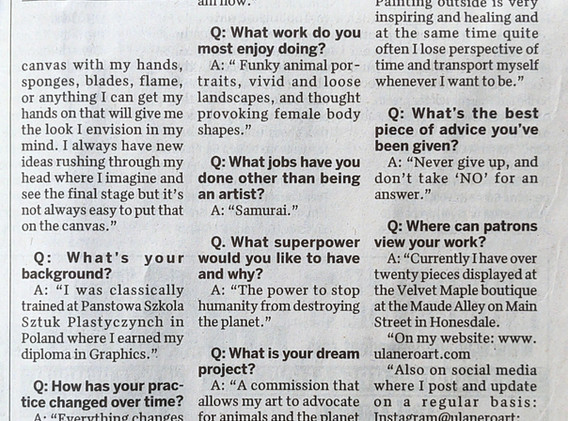 The Wayne Independent Meet the Maker Interview