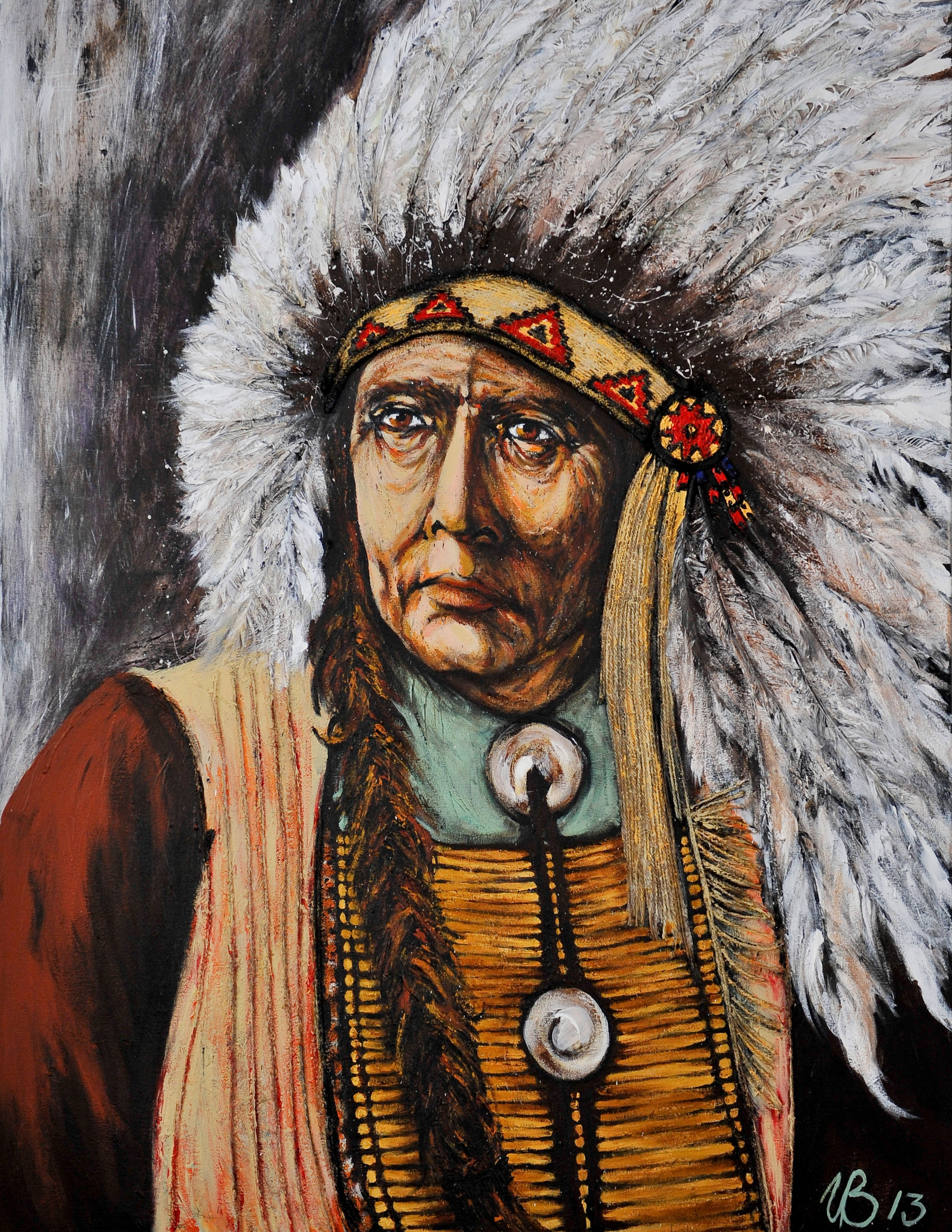 Mohican Tribal Chief