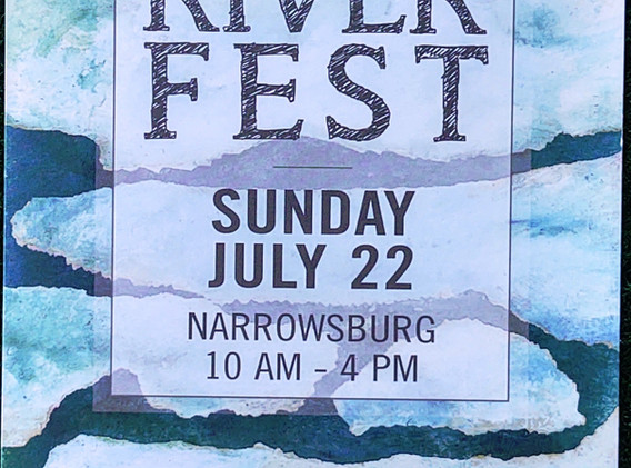 Delaware Valley Arts Alliance RiverFest Poster Auction