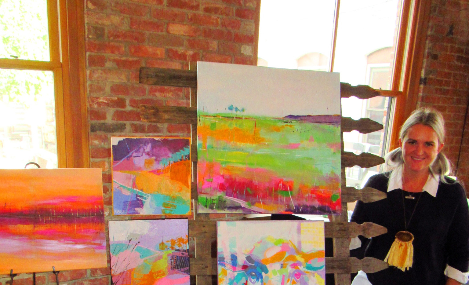 """2018 """"Across The Delaware: A Fine Arts Exhibit"""" Group Exhibition; The Cooperage Project"""