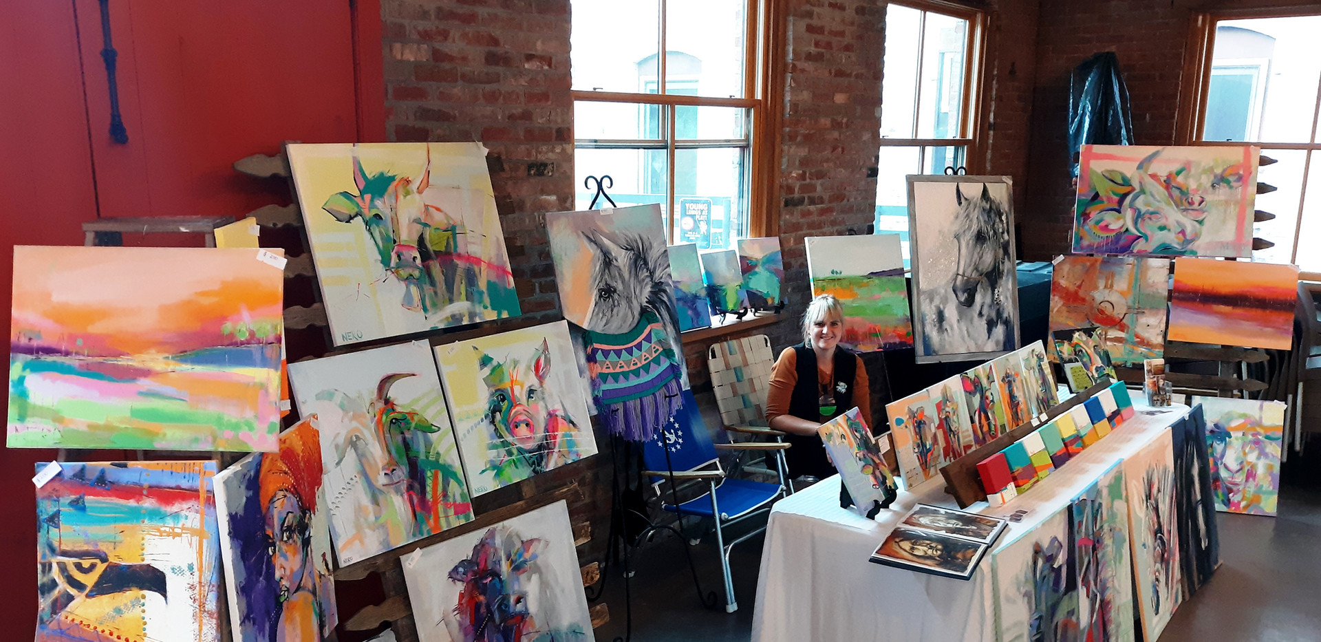 """2nd Annual """"Across The Delaware: A Fine Arts Exhibit"""" Group Exhibition; The Cooperage Project"""