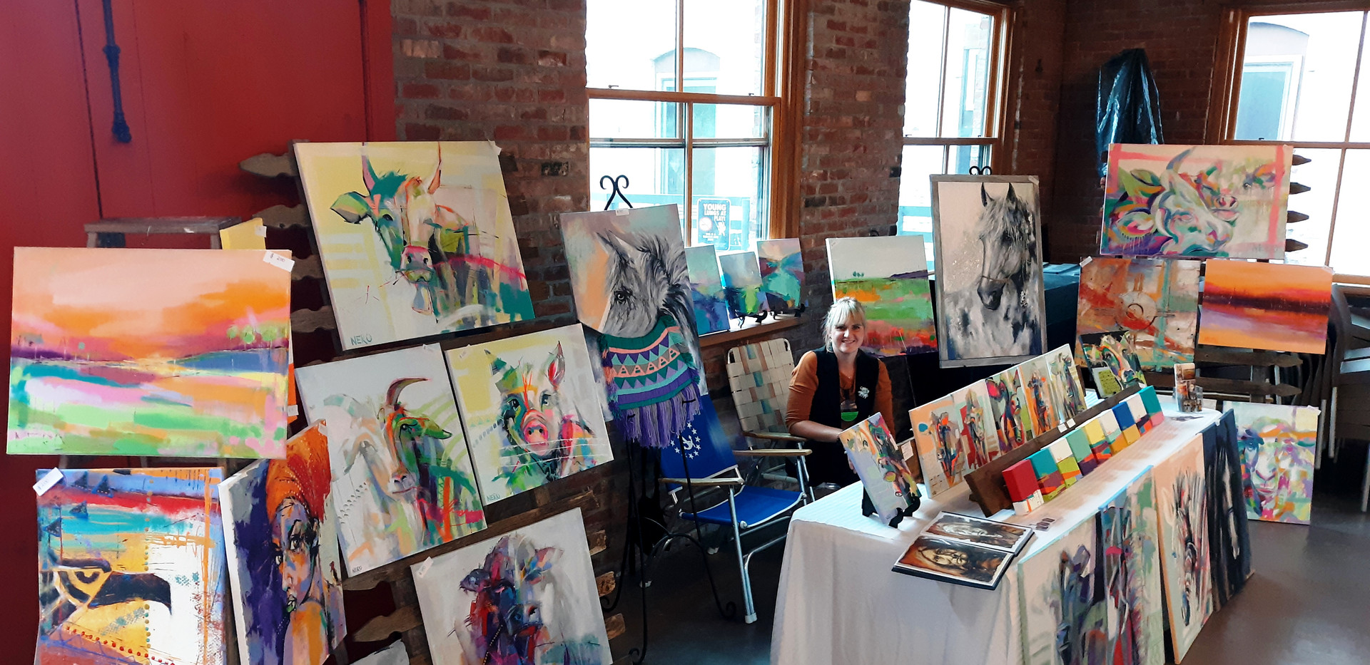 "2nd Annual ""Across The Delaware: A Fine Arts Exhibit"" Group Exhibition; The Cooperage Project"