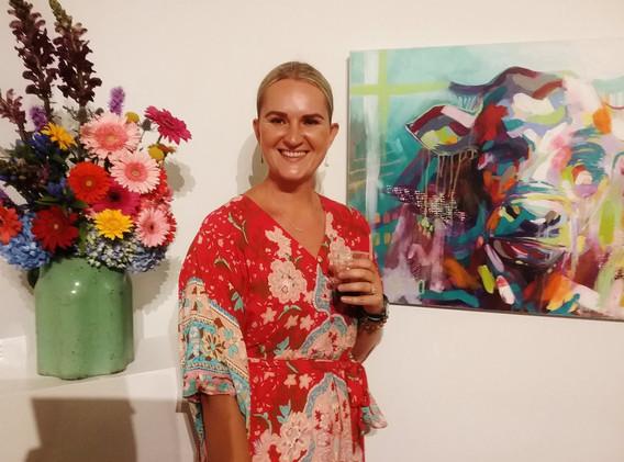 """Art In Bloom & Verse"" Group Exhibition; Delaware Valley Arts Alliance (DVAA)"