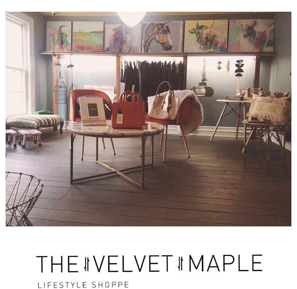 The Velvet Maple; Solo Installation