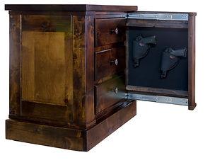 American Concealed Hidden Gun Nightstand