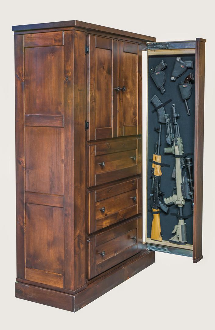 Hidden Gun Storage Hunters Chest