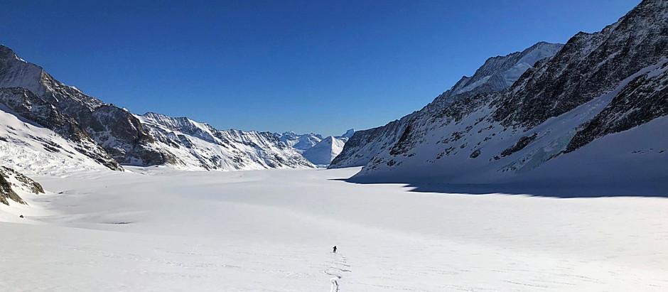 The Alpine Trinity - Part 1of 3 : The Eiger/Jungfrau