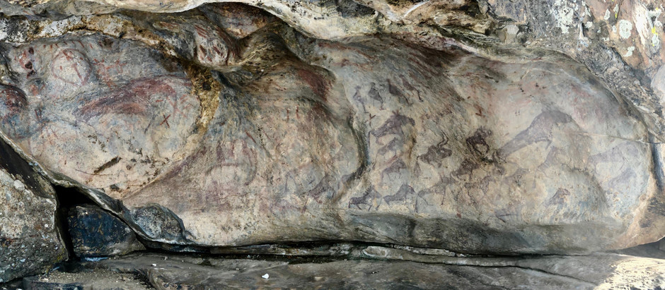 Altay Series Part 2: Cave Paintings of the First Skiers?