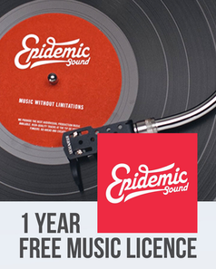 Epidemic Sound 1 Year Subscription