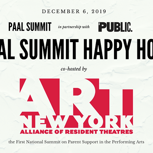 PAAL National Summit: HAPPY HOUR | NYC