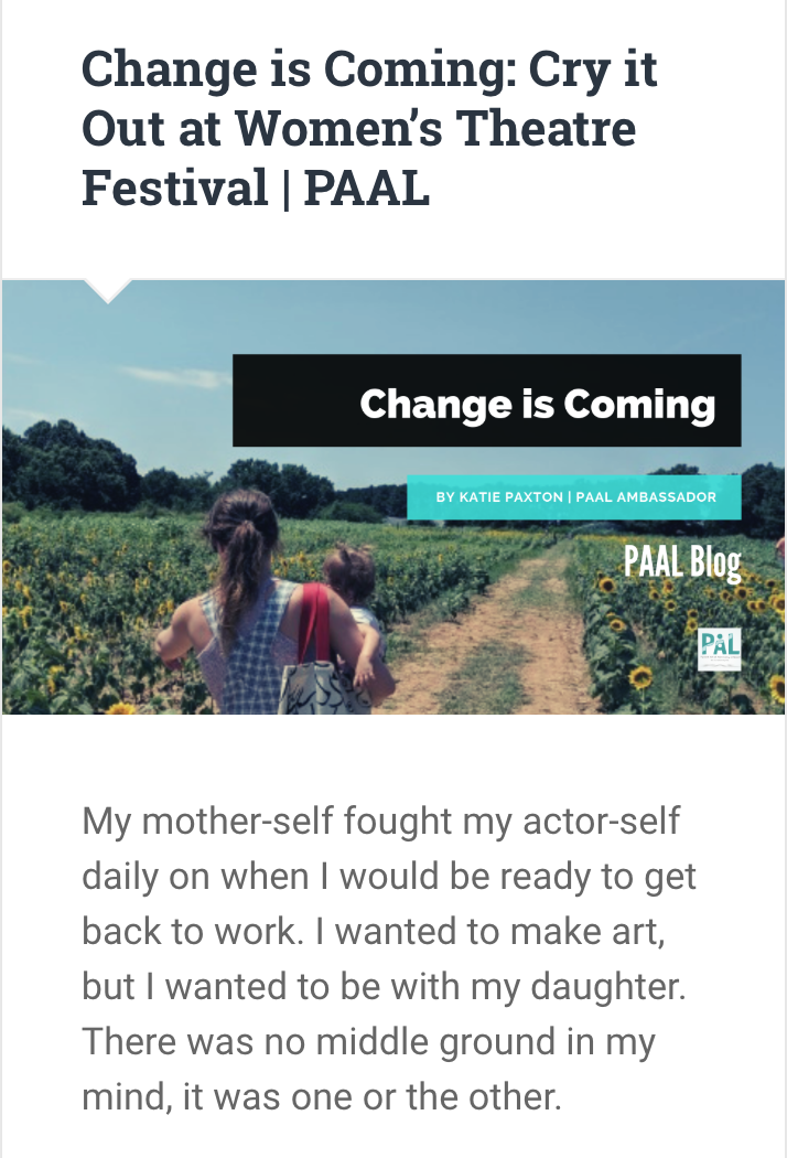 Change is Coming | PAAL Blog