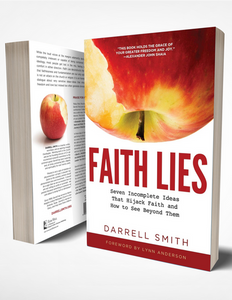 The book cover of Darrell Smith's new book Faith Lies