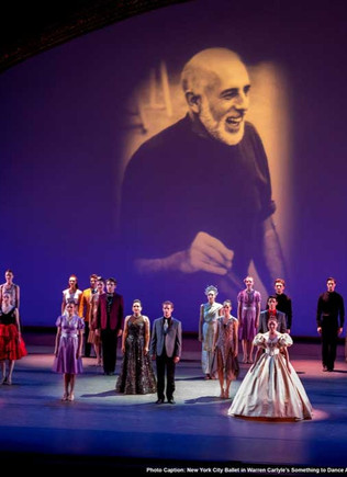 Something to Dance About: Jerome Robbins Broadway at the Ballet