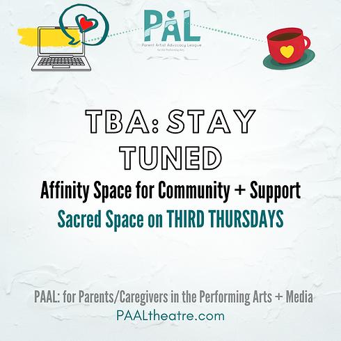 Affinity Space on Third Thursdays: TBA (1)