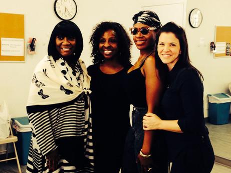 Tony Telecast Rehearsal with Patti LaBelle, Gladys Knight and Fantasia Barrino
