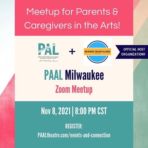 Milwaukee Chapter Meetup | NOVEMBER
