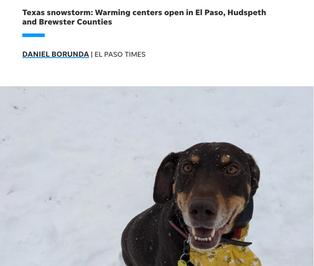 El Paso Warming Centers