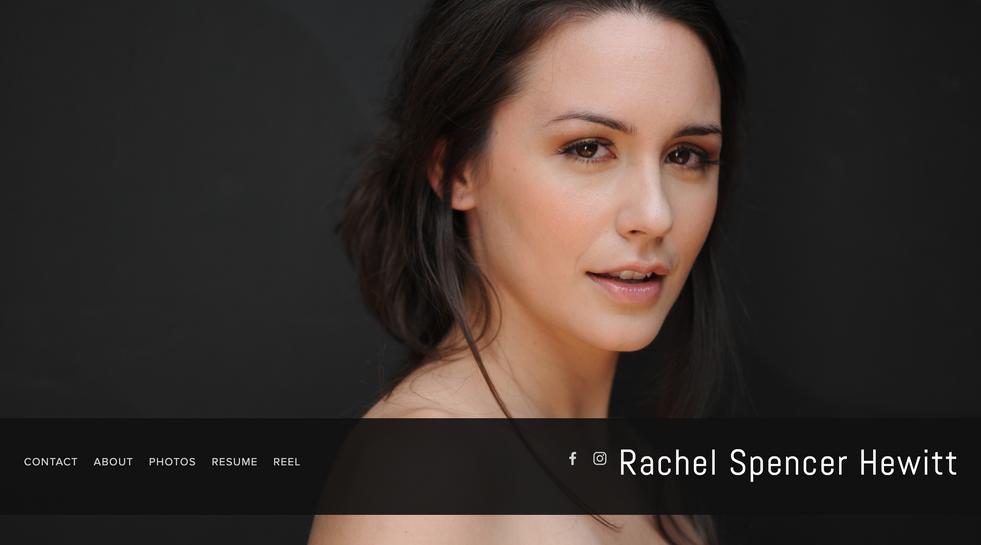 Rachel Spencer Hewitt | Actor