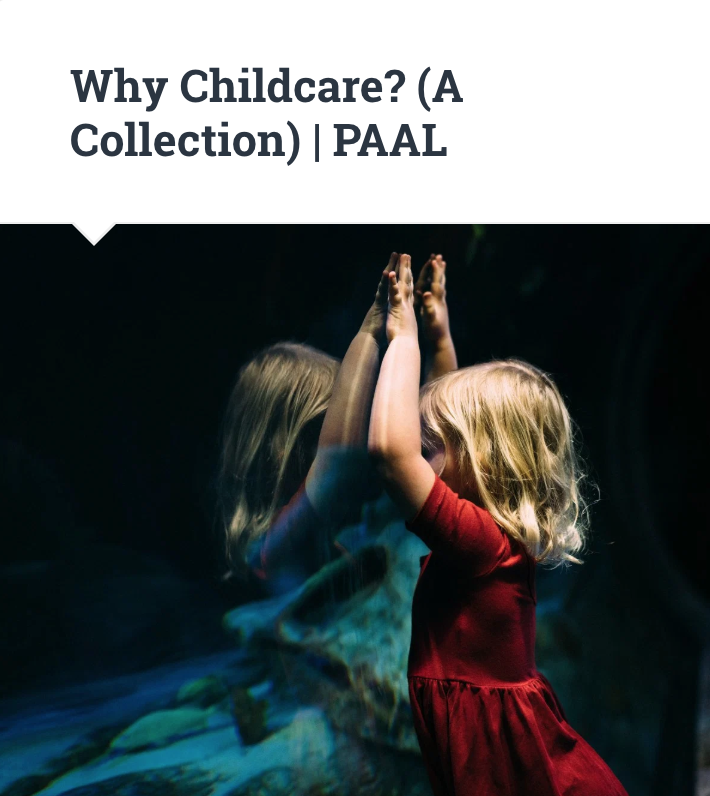 Why Childcare?