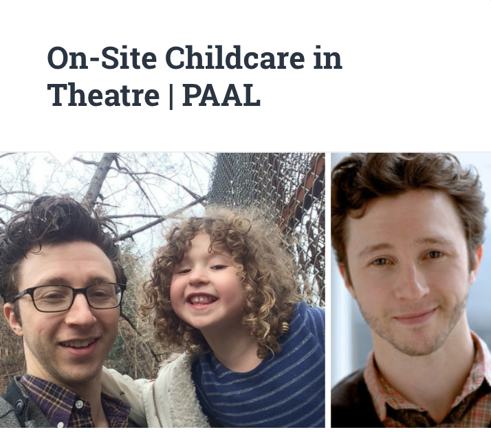 On-Site Childcare in Theatre