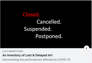 Record your lost and delayed art.