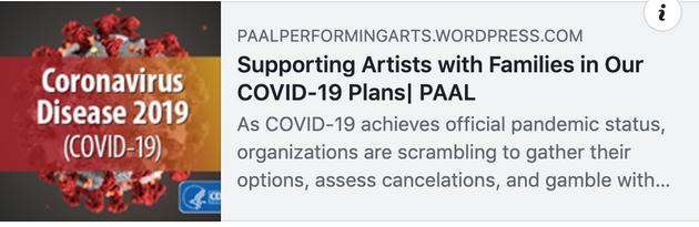 Support Artist Families