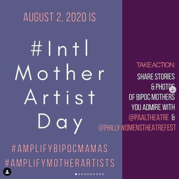 #IntlMotherArtistDay 2020