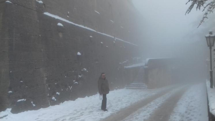 Сан Марино зимой