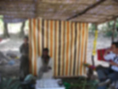 это кофейня на озере Тана