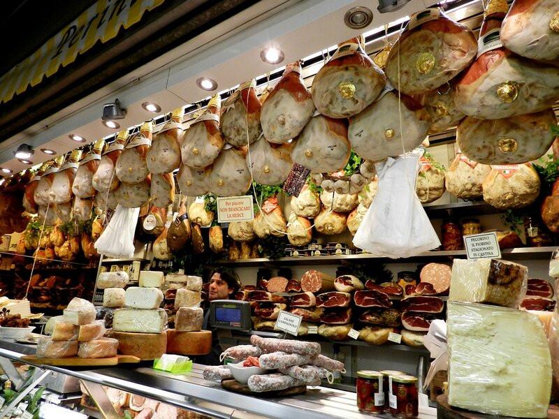мясной ряд рынка